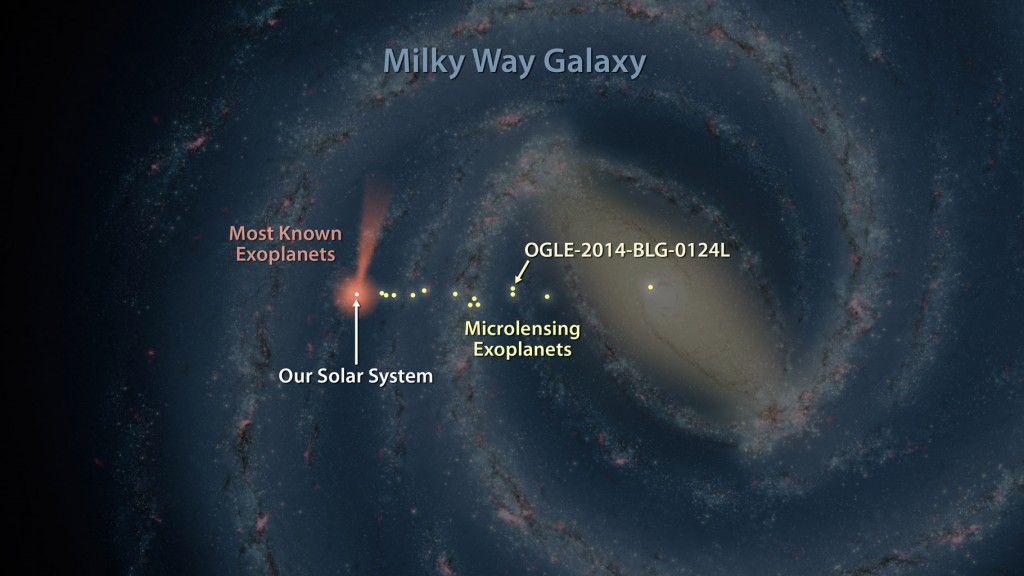 Like early explorers mapping the continents of our globe, astronomers are busy charting the spiral structure of our galaxy, the Milky Way. Using infrared images from NASA's Spitzer Space Telescope, scientists have discovered that the Milky Way's elegant s