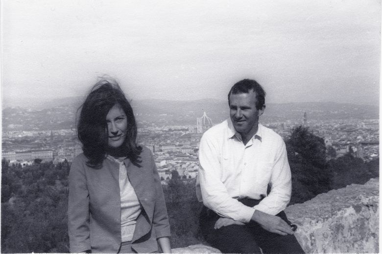prue-shaw-and-clive-james-in-florence-c1966